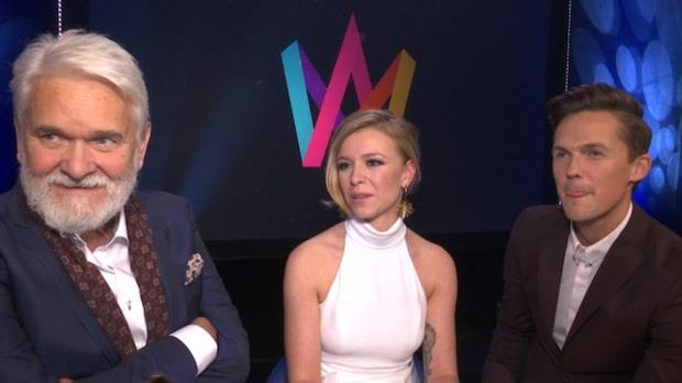 Trion ska leda Melodifestivalen 2017