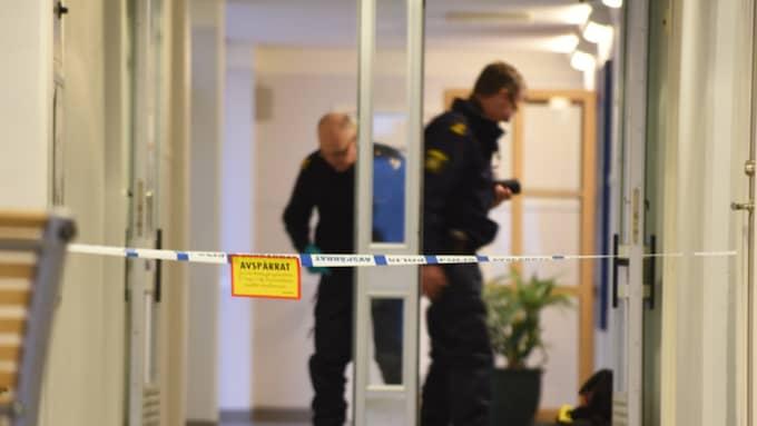 En pojke knivskars på en skola på måndagen – 15-åringen avled av sina skador. Foto: Jens Christian/topnews.se