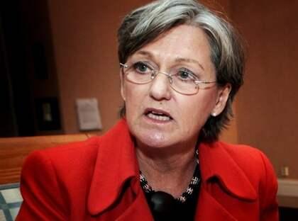 Socialförsäkringsminister Cristina Husmark-Pehrsson ser allvarligt på försäkringskassans många övertramp. Foto: Olle Sporrong