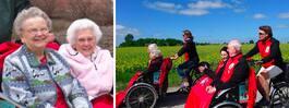 Specialcyklarna för äldre sprider sig i Sverige
