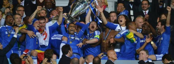 Chelsea vann Champions League förra året. Foto: Lars Baron