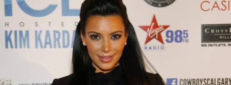 Kim Kardashian använder sig av en billig kroppsolja för att undvika bristningar när hon väntar sitt och Kanye Wests barn. Foto: Todd Korol