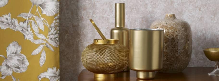 Lys upp ditt hem med små detaljer i guld Leva& bo