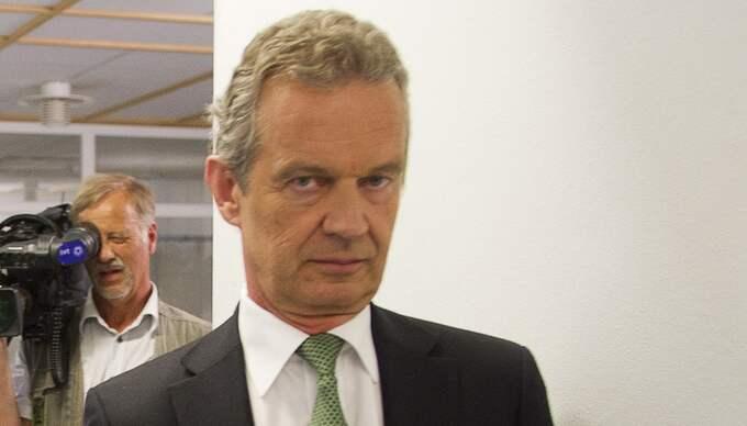 Hovets informationschef Bertil Ternert. Foto: Suvad Mrkonjic