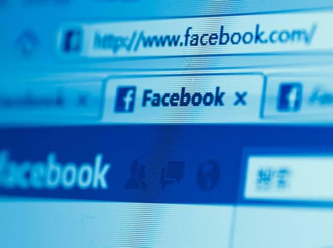 Facebook. Foto: Shutterstock.