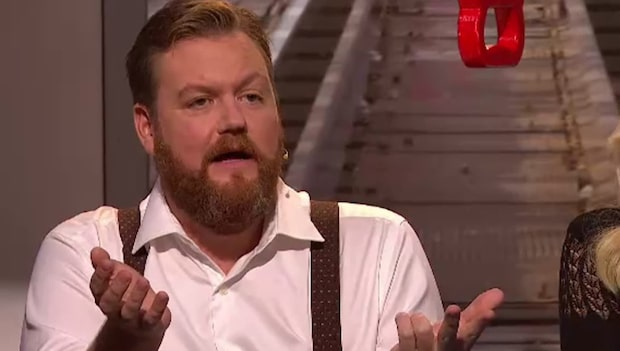 Komikern ryter ifrån mot Fredrik Lindström i På Spåret