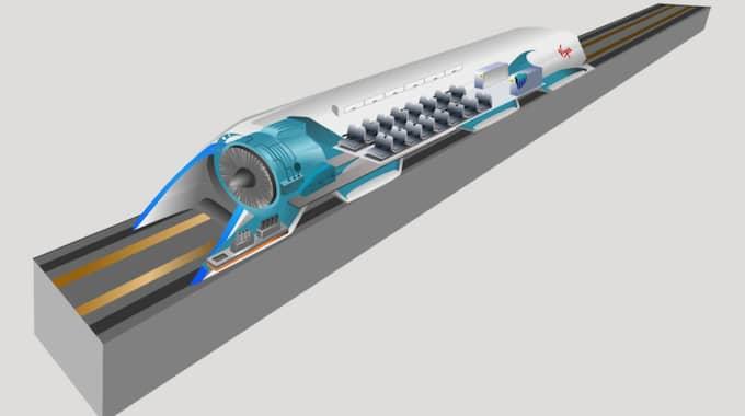 Ett amerikansk företag är redan i full gång med utvecklingen av Hyperloop. Foto: Wikipedia