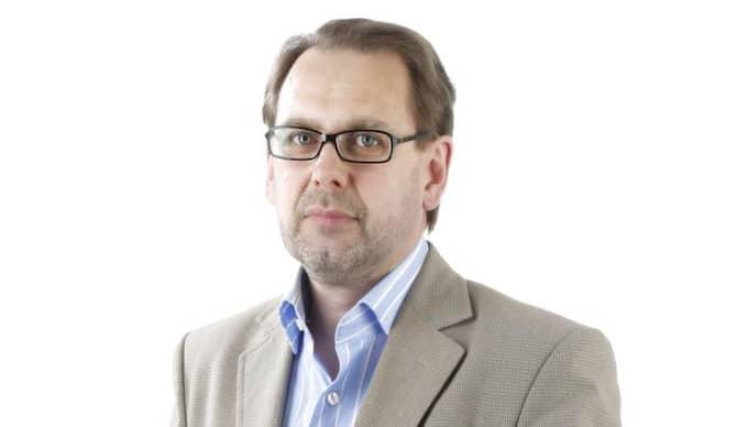 PeO Wärring, Eskilstuna-Kurirens chefredaktör. Foto: - -