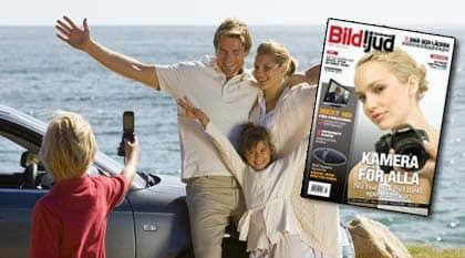 De 6 storsäljarna på kameramobilmarknaden testas.