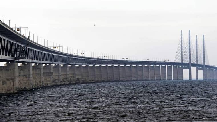 Polisen har observerat misstänkt taxitrafik med asylsökande över Öresundsbron. Foto: Ludvig Thunman