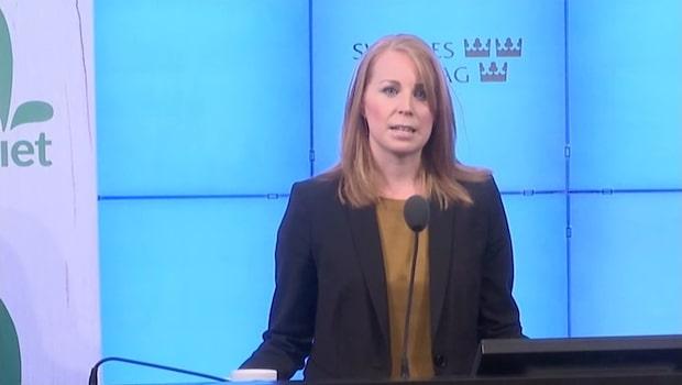 """Annie Lööf: """"Vi kommer inte att samarbeta med sverigedemokraterna"""""""
