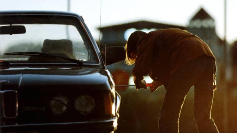 Polisen misstänker: liga riktar in sig på lyxbilar. Foto: Anders Deros