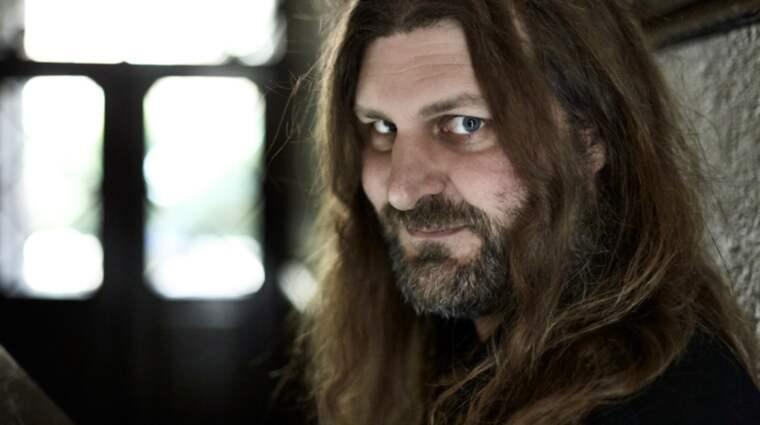 """Orvar Säfström är en av författarna till boken """"Äventyrsspel: Bland mutanter, drakar och demoner"""" . Foto: Fotograf Bengt Alm"""