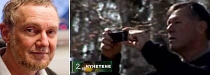Till höger: Gunnar Tveit, förde detta norsk säkerhetspolis, utpekas som CIA-spion av norska TV2. Tveit och ett antal av hans tidigare kolleger inom norsk säkerhetspolis ska enligt norska TV2 ha dokumenterat ett stort antal norska medborgare för CIA:s räkning. Till vänster, Wilhelm Agrell. Foto: Joachim Wall och TV2