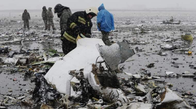 Alla ombord planet omkom i kraschen. Foto: Ap / AP
