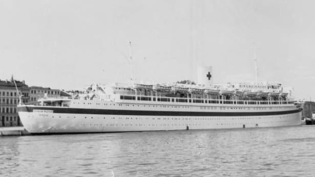 9000 döda på tyskt fartyg