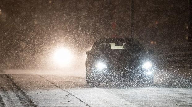Varningen: Nattfrost och halka på väg in