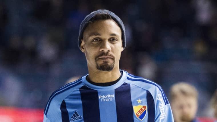 Mathias Ranégie är Djurgårdens tyngsta värvning inför den nya allsvenska säsongen. Foto: Johanna Lundberg