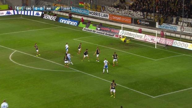 HIGHLIGHTS: Göteborg-AIK 1-0