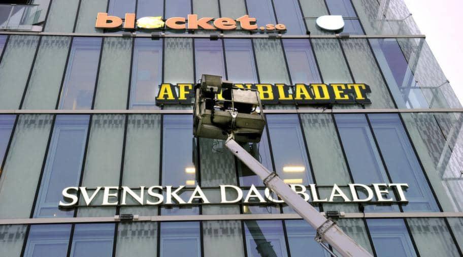 Schibsteds redaktioner i Stockholm. Foto: Tomas Oneborg / Svd / Scanpix