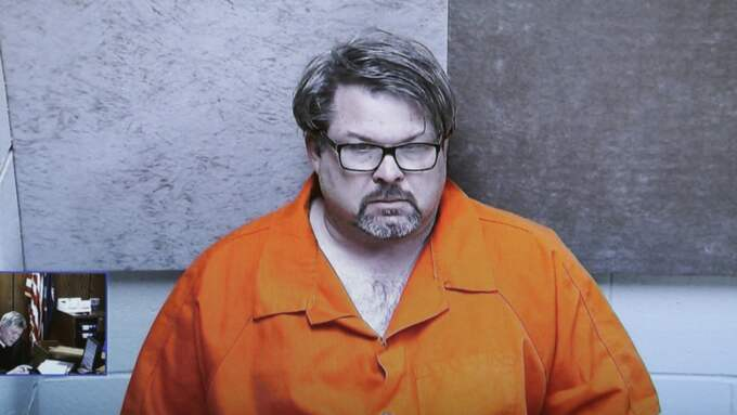 Jason Dalton misstänks för skjutningarna i Michigan. Foto: Carlos Osorio