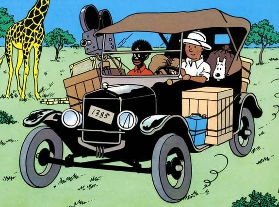 """Afrosvenskarnas riksförbund skriver i dag att de stödjer den JK-anmälan av """"Tintin i Kongo"""" för hets mot folkgrupp som gjorts."""