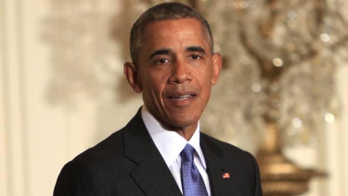 """Barack Obama vill stänga Guantanamo: """"Låt oss nu göra vad som är rätt"""" sa han under en presskonferens. Foto: Dennis Brack / Pool / Epa / Tt"""