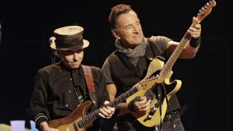 Bruce Springsteen gör en tredje konsert på Ullevi. Foto: Tony Dejak