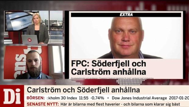 Johan Carlström och Lars Söderfjell är anhållna