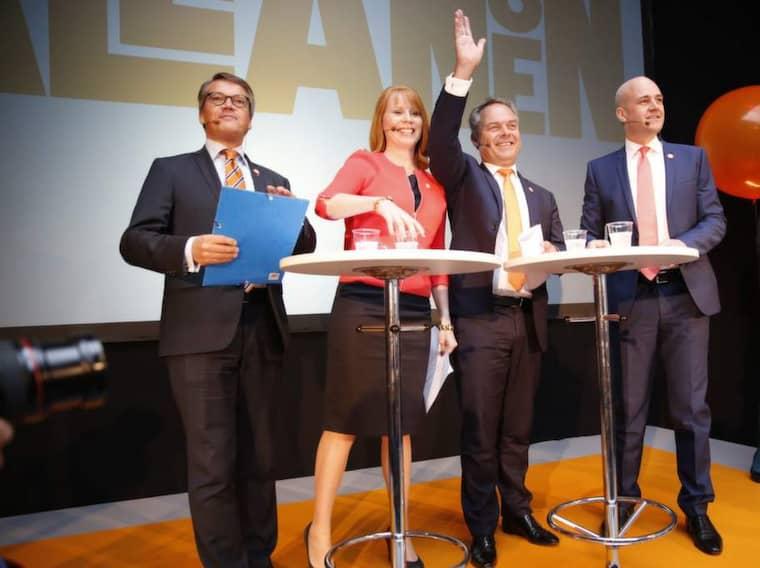 Fick ett varsel. Redan en månad före valet kan Leif GW Persson avslöja valresultatet. Foto: Lisa Mattisson
