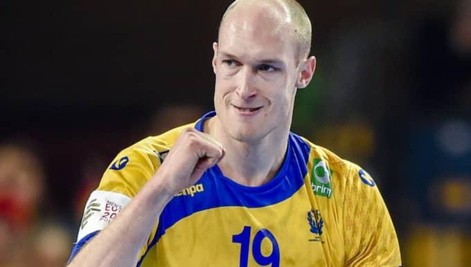 Johan Jakobsson utsågs till matchen spelare. Foto: Johanna Lundberg