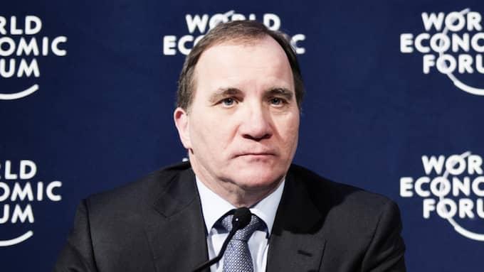 Stefan Löfven befinner sig på världstoppmötet World Economic Forum i Davos, Schweiz. Foto: Anna-Karin Nilsson