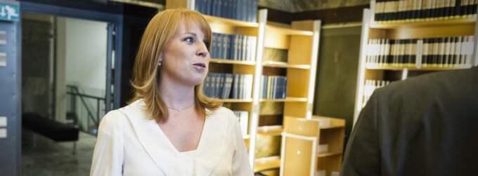 Annie Lööf. Foto: Mikael Sjöberg