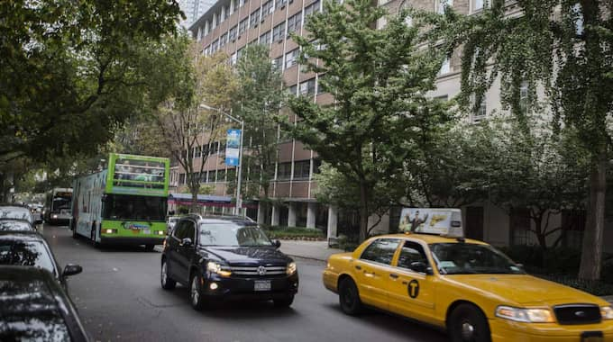 14-åringen fick sin nya näsa på Mount Sinai-sjukhuset i New York. Foto: Axel Öberg