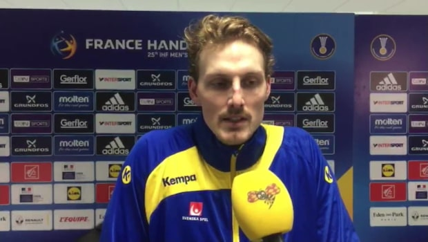 Jesper Nielsen efter segern mot Vitryssland