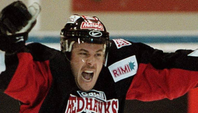 Robert Burakovsky i Redhawks-tröjan 2002. Foto: Ronny Johannesson