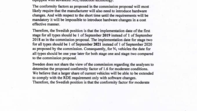 Dokumenten visar att Åsa Romson i hemlighet jobbat för att de nya hårdare kraven ska införas senare.