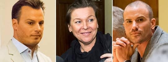 På tisdagen fortsatte rättegången mot de kända artister som åtalas i skattehärvan kring bokaren Bruno Tillander. Foto: SUVAD MRKONJIC