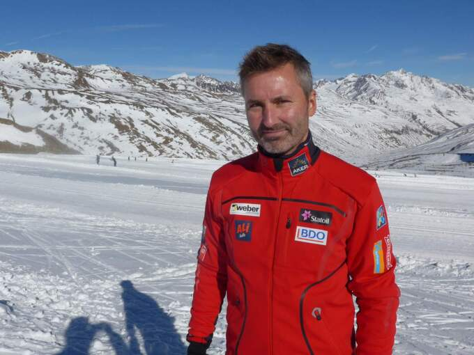 Bernt Halvard Olderskog, sponsoransvarig på norska skidförbundet. Foto: Tomas Pettersson