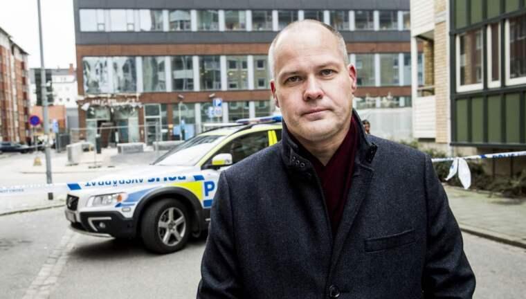 """""""Många av företagen har hårresande räntor"""", säger justitieminister Morgan Johansson (S). Nu ökar regeringen pressen på smslåneföretagen. Foto: Tomas Leprince"""