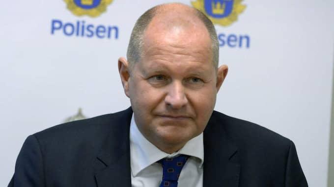 För Expressen återger rikspolischefen Dan Eliasson nu den händelse som ledde till att han sommaren 1979 ställdes inför rätta i Hedemora tingsrätt. Foto: Janerik Henriksson/TT