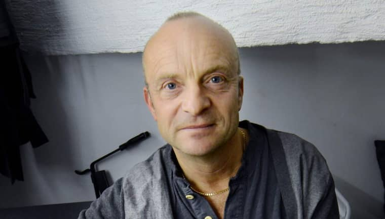 Jonas Gardell tycker att Karl Ove Knausgård försvarar Sverigedemokraterna. Foto: Robban Andersson