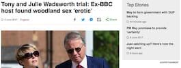 Kända BBC-paret skyldiga efter sexmötena med barn