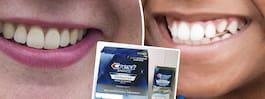 Varnar för det farliga tandblekningsmedlet