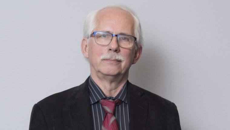 Gunnar Wall är författare och expert på Palmemordet. Foto: Sven Lindwall