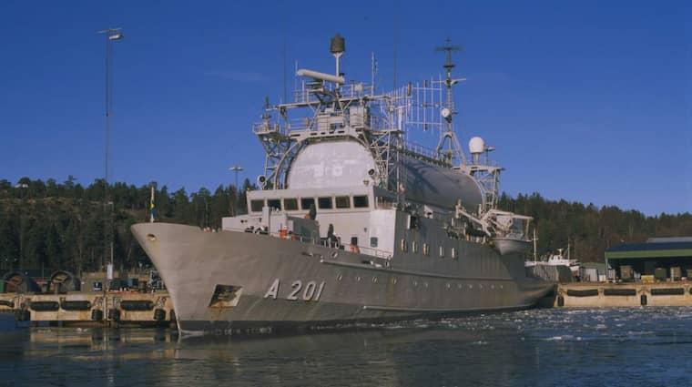 HMS Orion.