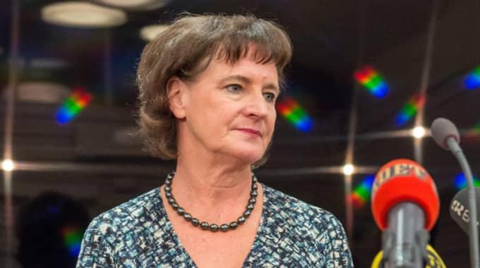 """Annelie Nordström vill inte säga hur mycket krishanteringen kan ha kostat: """"Vi tycker inte att det är något som allmänheten behöver veta"""". Foto: Pelle T Nilsson"""