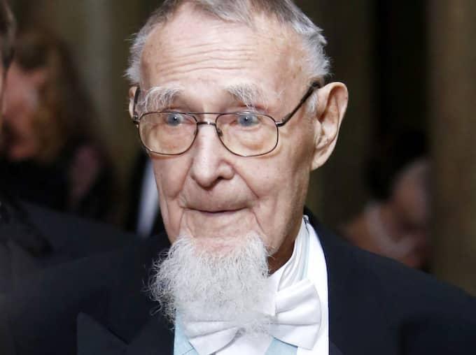 """Ingvar Kamprad, 89, tar ett steg tillbaka och lämnar posten som ordförande i """"Familjen Kamprads stiftelse"""". Foto: Patrik C Österberg All Over Pre"""