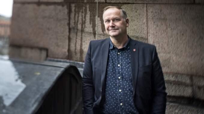 Jonas Sjöstedt, Vänsterpartiet. Foto: Pontus Lundahl/TT