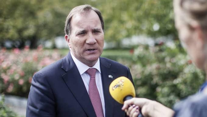 Statsminister Stefan Löfven (S). Foto: Axel Öberg